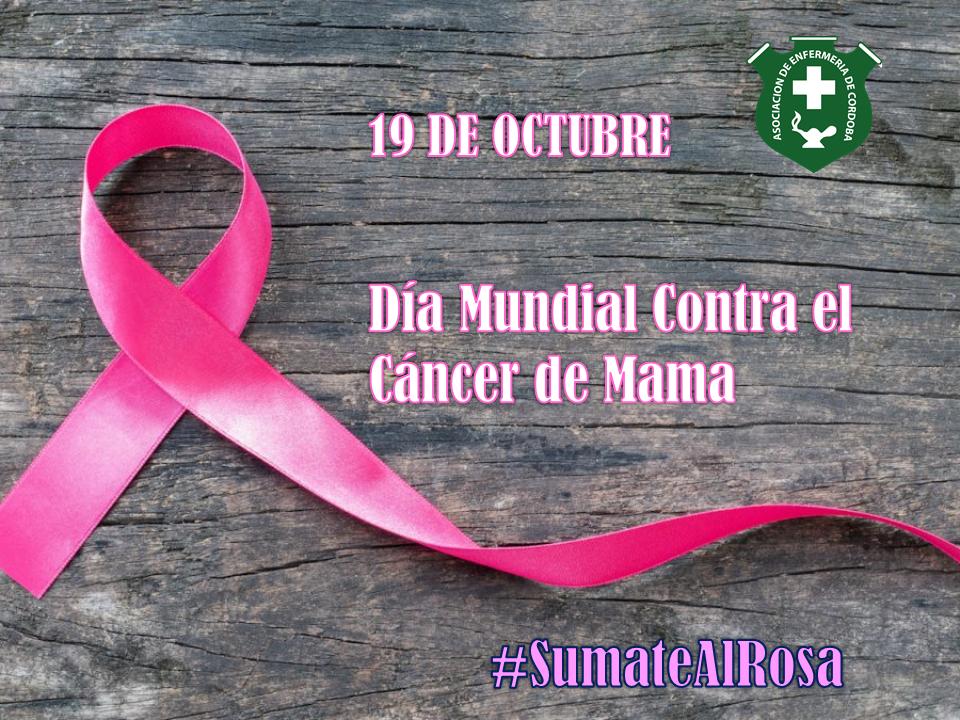 19 de Octubre - Día Mundial Contra el Cáncer de Mama