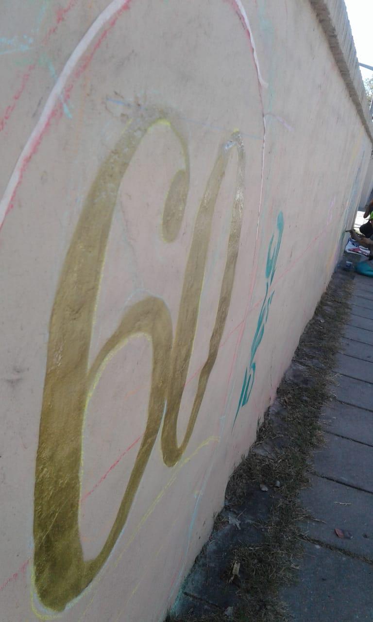 Actividades por los 60 años de AEC - Pintada de Mural - 3