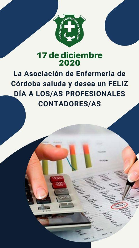 17 de Diciembre 2020 - Día del Contador/a