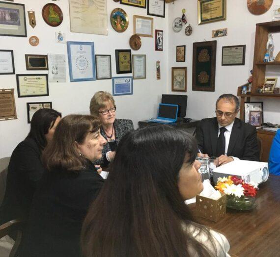 AEC en la visita de Annette Kennedy, Presidenta del CIE