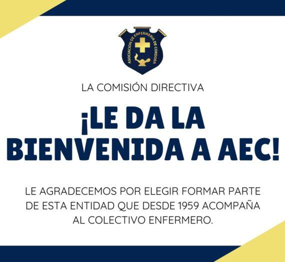 ¡BIENVENIDA A LOS NUEVOS SOCIOS! – INGRESOS DESDE NOVIEMBRE DE 2020